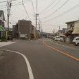 旧道と新道の分岐点