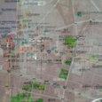 久留米市街図