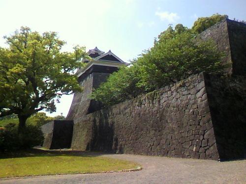 熊本城侵入!