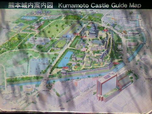 城内案内図