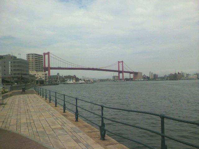東洋一の吊り橋