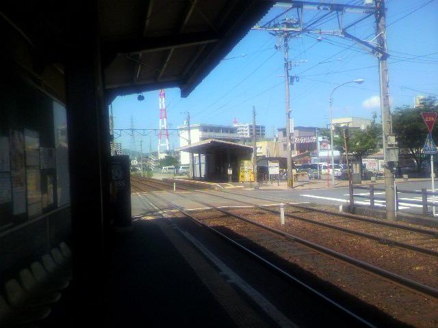 筑鉄萩原駅