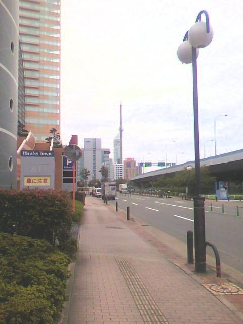 タワー遠望