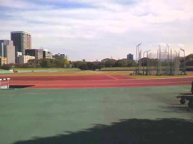 舞鶴公園 平和台陸上競技場
